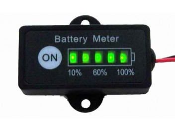 6V 12V 24V 36V 48V battery fuel gauge battery monitor for Lead Acid Battery