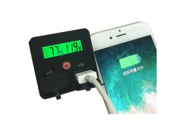 3-6S Lithium Battery Fuel gauge with Dual USB Port